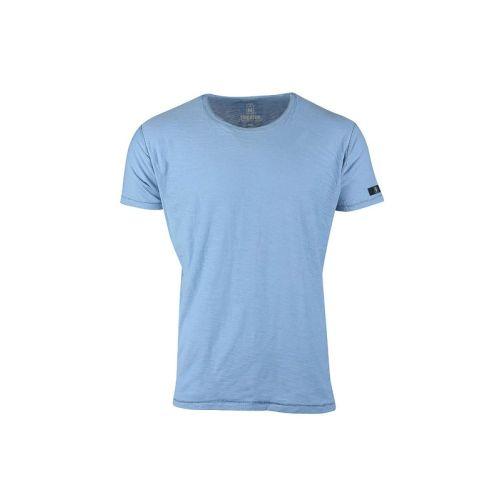 Pánské modré tričko Denim