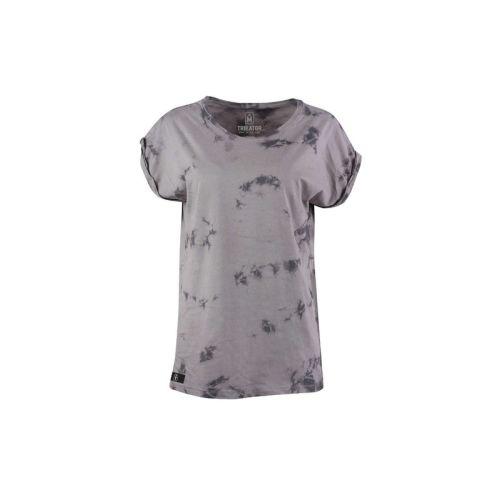 Dámské šedé tričko Shoulder