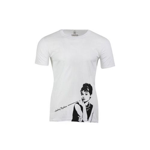 Pánské tričko Černobílá Audrey