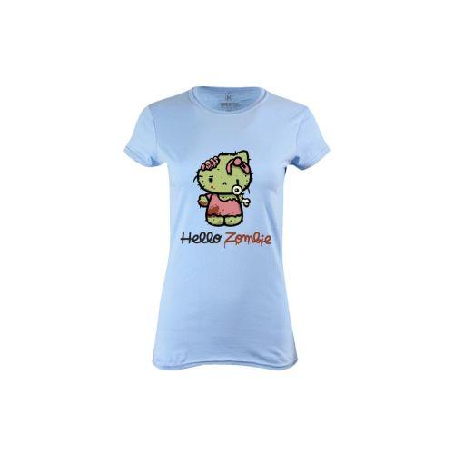Dámské tričko Roztomilý Zombie