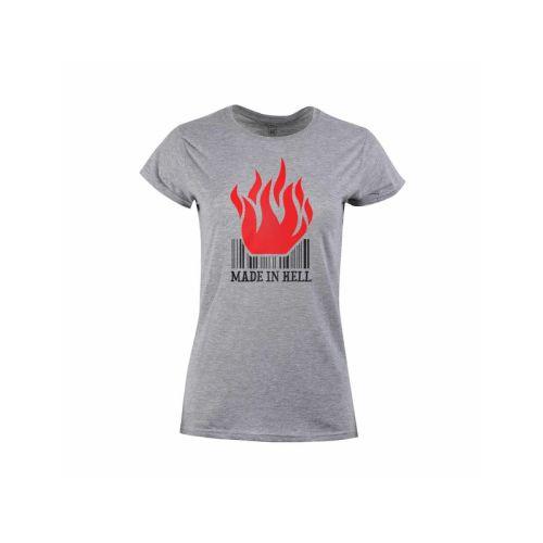 Dámské tričko Vyroben v pekle