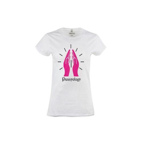 Dámské vtipné tričko Pussyology