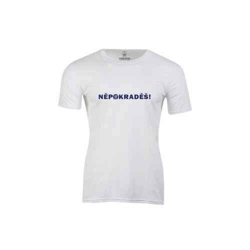Pánské tričko ANO Nepokraděš