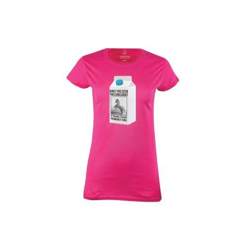 Dámské tričko Nezvěstný jednorožec