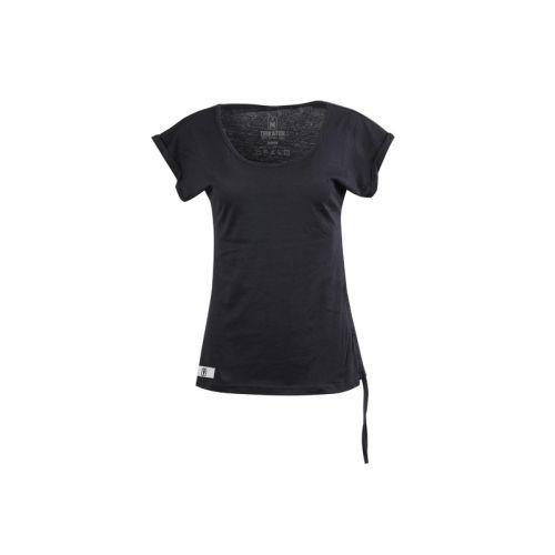 Dámské černé tričko Cord