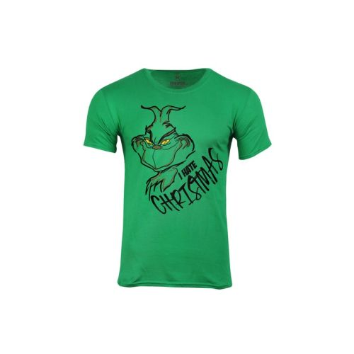 Pánské tričko Grinch nesnáší Vánoce