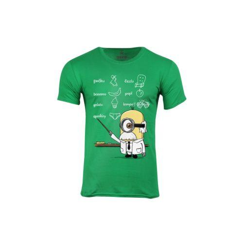 Pánské tričko Žluťas vědátor