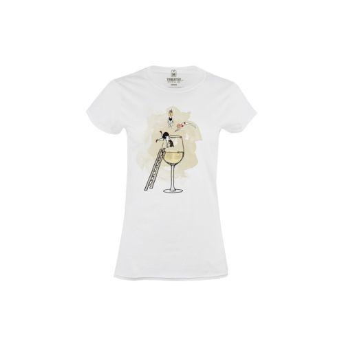 Dámské tričko Bazén s vínem