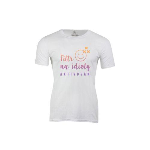 Pánské tričko Proti idiotům