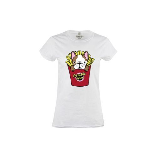 Dámské tričko Francouzský buldoček
