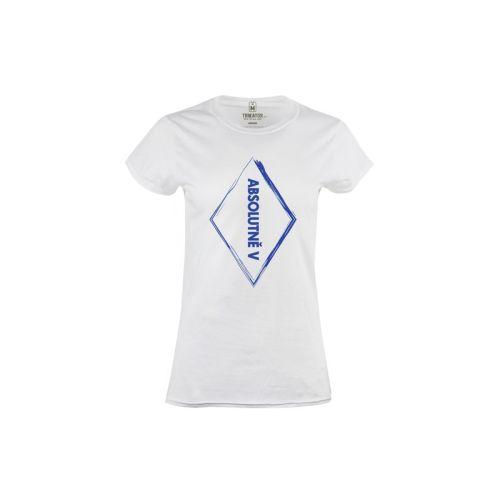 Dámské tričko Absolutně v kosočtverci