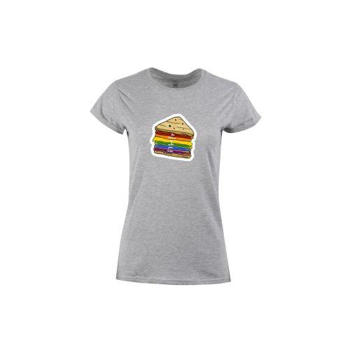 Dámské tričko LGBT Sendvič