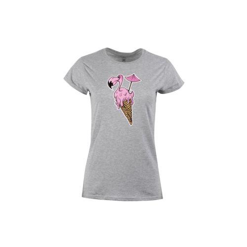 Dámské tričko Plameňáková zmrzlina