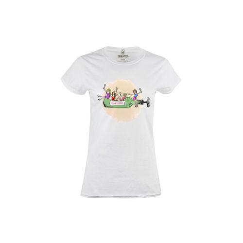 Dámské tričko Víno ve městě