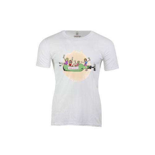 Pánské tričko Víno ve městě