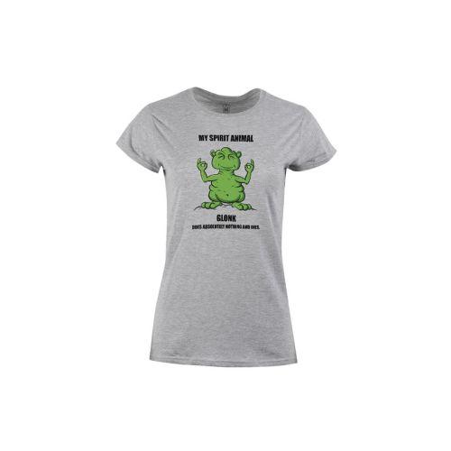 Dámské tričko Zelený Glonk