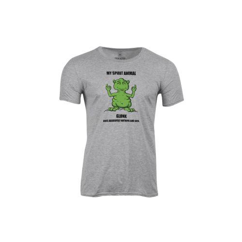 Pánské tričko Zelený Glonk