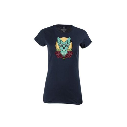 Dámské tričko La Muerte Cat