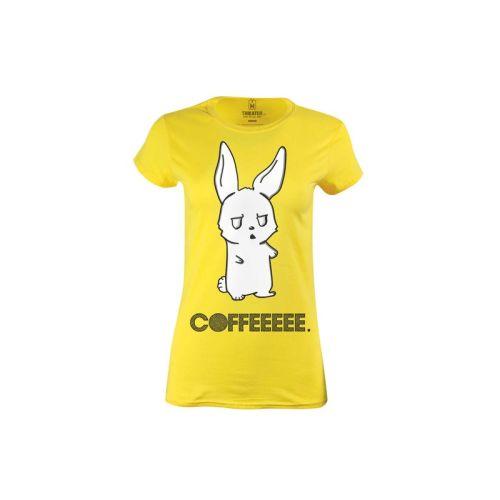 Dámské tričko Závislák na kávě