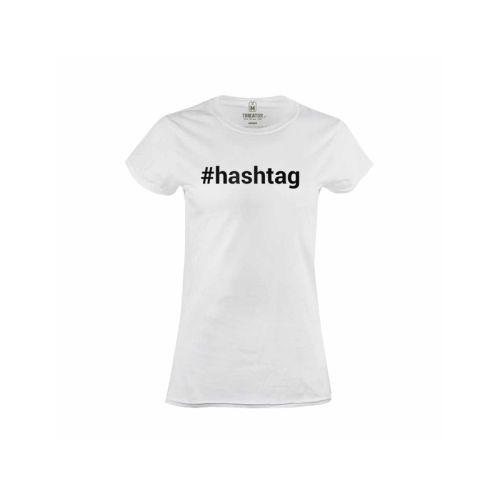 Dámské tričko Hashtag