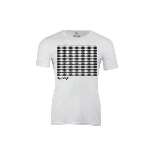 Pánské tričko Bílý Rhombus