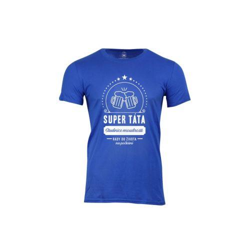 Pánské vtipné tričko Super táta