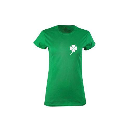 Dámské tričko Čtyřlístkové srdce