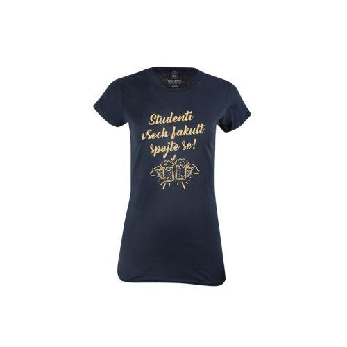 Dámské tričko Spojení studentů