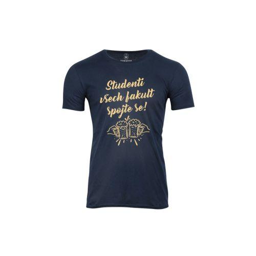 Pánské tričko Spojení studentů