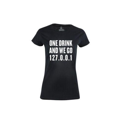 Dámské tričko Jeden Drink