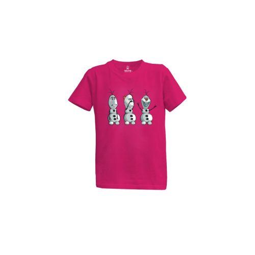 Dětské tričko Sněhulák