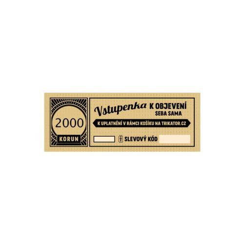 Dárkový kupon 2000Kč
