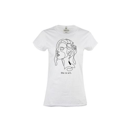 Dámské tričko She is Art