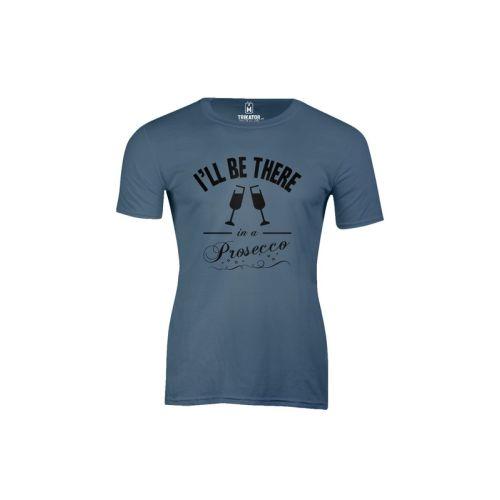 Pánské tričko Prosecco indg blue