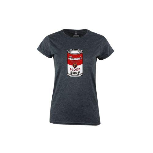 Dámské tričko Blood Soup dk heather