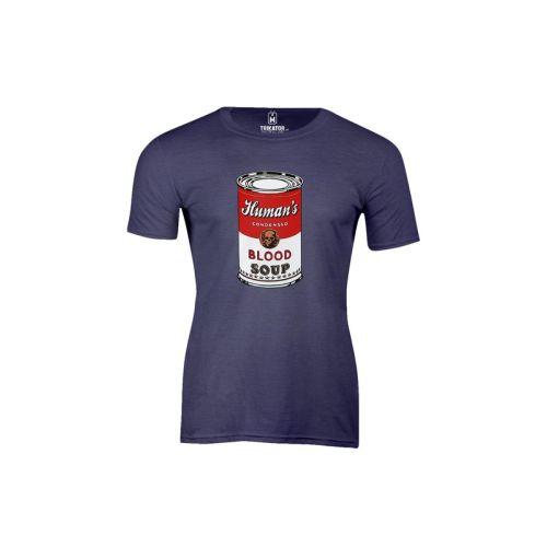 Pánské tričko Blood Soup htr navy