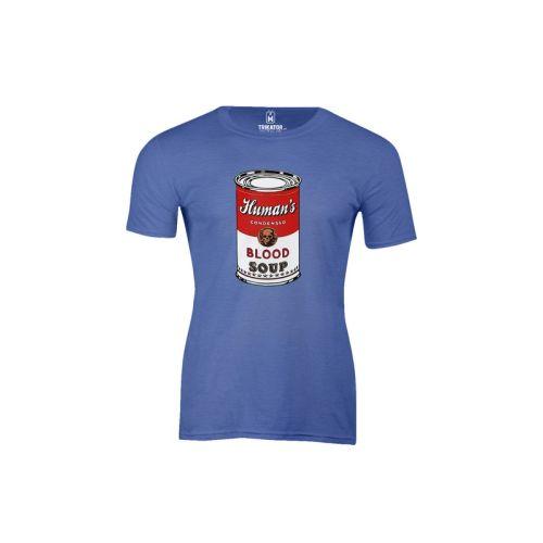 Pánské tričko Blood Soup htr royal