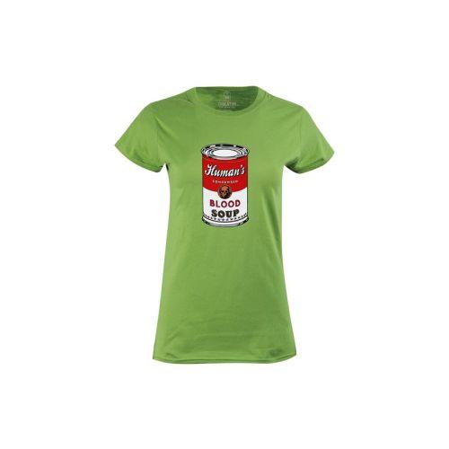 Dámské tričko Blood Soup kiwi