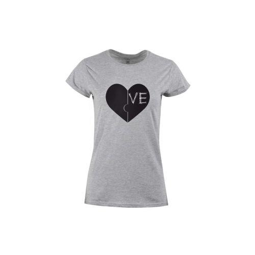 Dámské tričko Dvě srdce