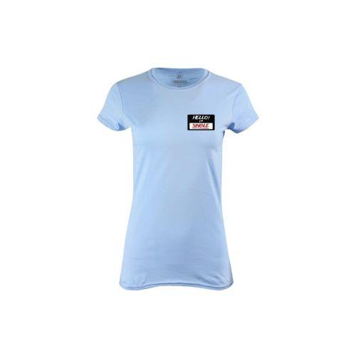 Dámské tričko Hello Single
