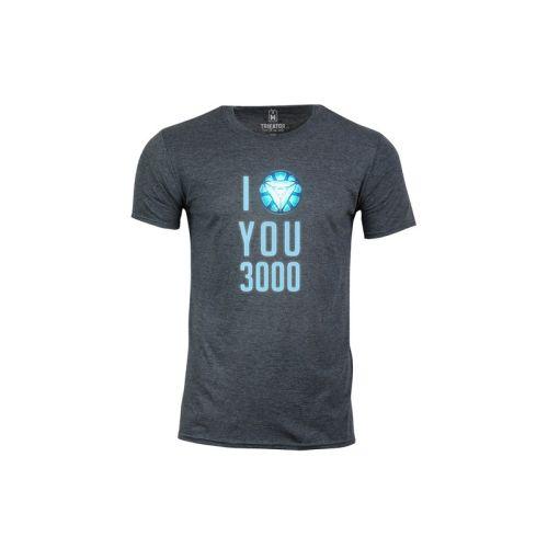 Pánské tričko Miluju 3000 dk htr