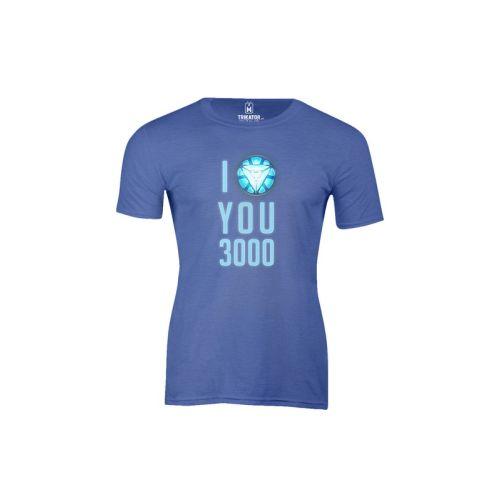 Pánské tričko Miluju 3000 h ro