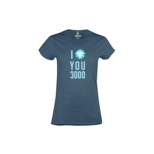 Dámské tričko Miluju 3000 in b
