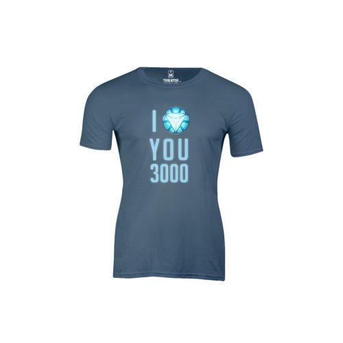 Pánské tričko Miluju 3000 in b