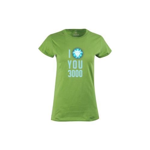Dámské tričko Miluju 3000 kiwi