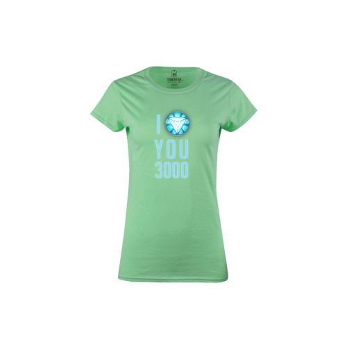 Dámské tričko Miluju 3000 m gr