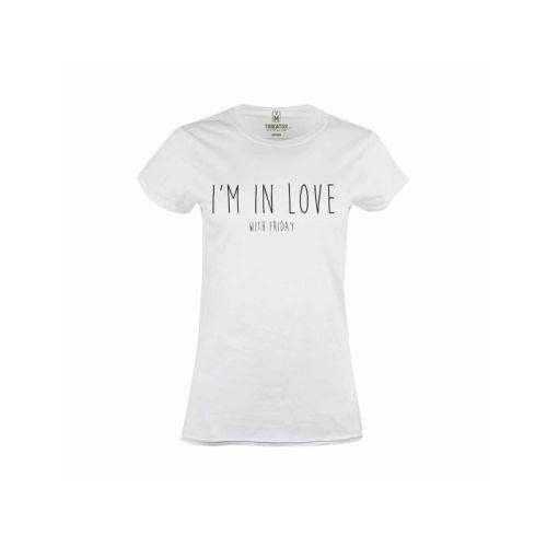 Dámské tričko Friday Lover