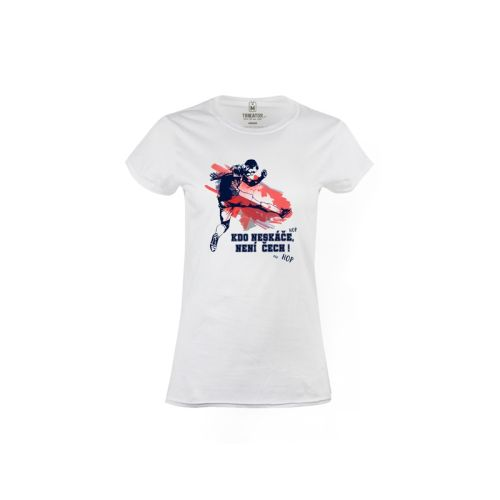 Dámské tričko Kdo neskáče