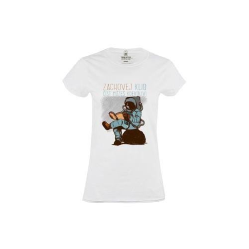Dámské tričko Čti kdekoliv