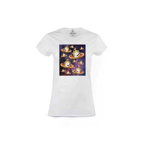 Dámské tričko Morče ve vesmíru